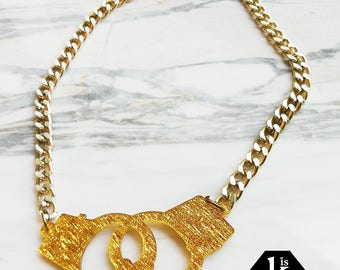Handcuff Necklace - N08