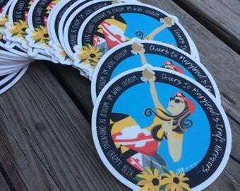Maryland Craft Beer Sticker