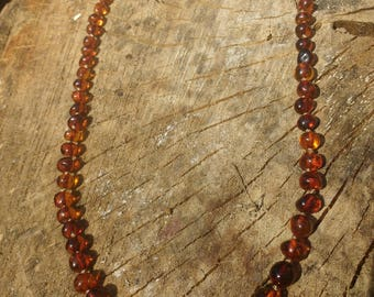 Baltic Amber Baroque Necklace