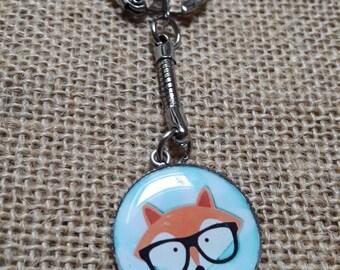 Keychain resin, Fox