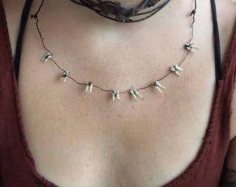 Opossum Toof Necklace