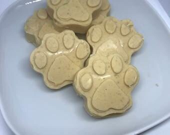 Peanut Butter & Cocnut Oil Paws.