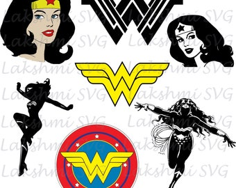 Wonder Woman svg, wonder woman clipart, Wonder woman silhouette,dxf,SWonder Woman svg, wonder woman png, Wonderwoman dxf