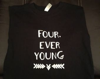 Four Ever Young child t shirt