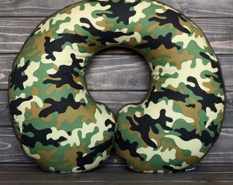 Travel Pillow For Adults - Camouflage - PREMIUM - PLUS