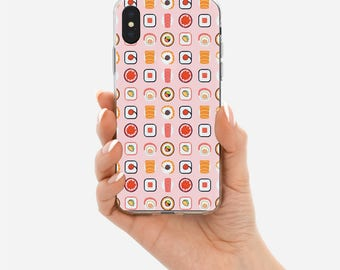 Sushi Case,Samsung Note 8 case,Samsung Note 5,Samsung S8 case,Samsung S8 Plus,Samsung S7,iPhone x case,iPhone 8 case,iPhone 7 case