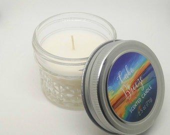 Handmade Cabo Breeze scented Candle