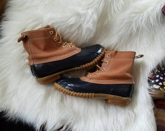 Vintage Land Rover Duck Boots