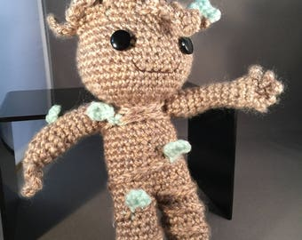 Baby Groot from Guardians of the Galaxy (Crafts by Grammy)