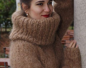 "Super sweater ""Mohair Tale"""