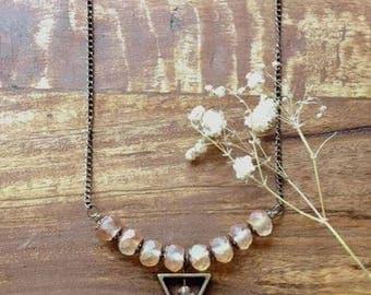 Delicate Triangle Necklace