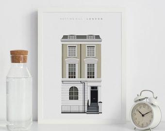 London Print, City Poster, City Painting, Printable, Prints, Downloadable Prints, Home Decor, Home Print, Home Decor Wall Art, LargePoster