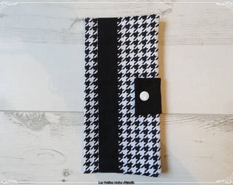 Protects family customizable way houndstooth fabric