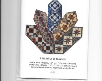 A Handful of Table Runners - Quilt Pattern