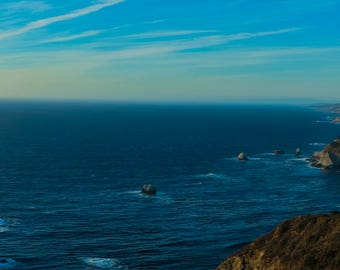 Big Sur California Panorama