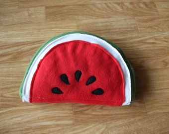 Cushion slice of watermelon for pig from India