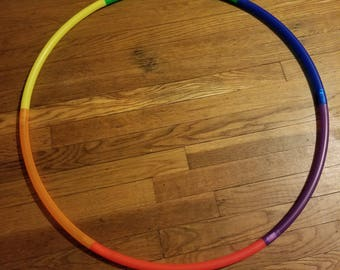Rainbow travel hoop