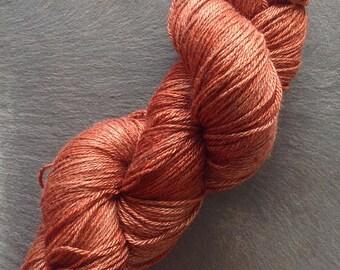 APPLEOAK plant dyed YETI ~ ROIBOIS ~ Yak/Silk  yarn ~  Botanically Dyed
