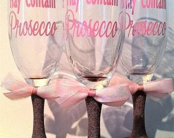 Prosecco champagne glass