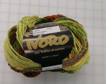 Noro Yarn - The World of Nature-Kureopatora - color #1036