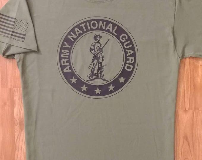 Army National Guard Shirt, Mens Army Shirt, Womens Army Shirt, Unisex T-Shirt, Army Veteran, Army Wife, National Guard T-Shirt, Army T-Shirt