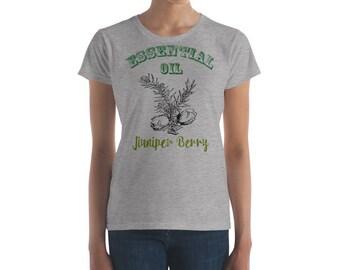 Essential Oil Juniper Berry Women's short sleeve t-shirt