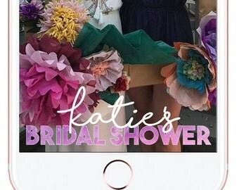 Bridal Shower Snapchat Geofilter #3
