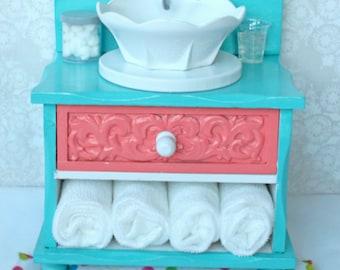 American Girl Furniture 18 Inch Doll Furniture Bathroom Vanity