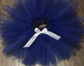 Blue Baby Tutu, Infant Tutu, Blue Toddler Tutu, Handmade
