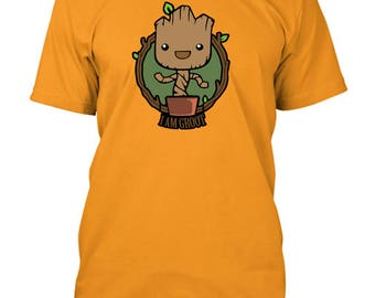 Guardians Of The Galaxy Baby Groot I Am Groot Inspired T-Shirt