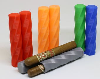 Cigar Case | Cigar Boxes | Cigar Box | Cigar Tube | Cigar Holder | Cigar Travel Case| Valet| Bachelor Party| Father of the Bride| 3D Printed