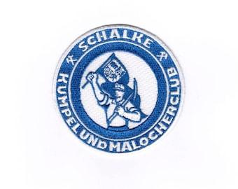 Kumpel und Malocherclub Iron on Sew on Embroidered Badge Applique Motif Patch