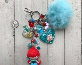 The Little Mermaid Inspired Purse Charm #1