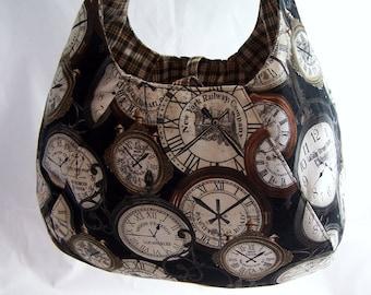 Reversible Hobo Bag