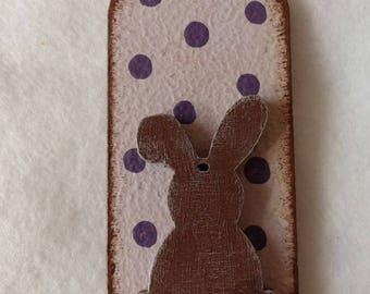 Easter Gift Tags, Lovely Tags, Bunny, Easter Bunny, Gift Tag