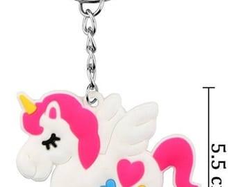 Unicorn Keychain