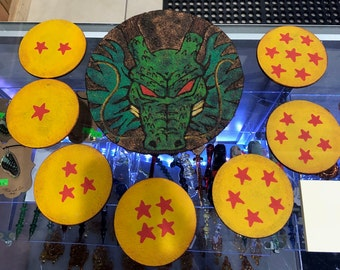 Dragonball Z Cork Coaster Set