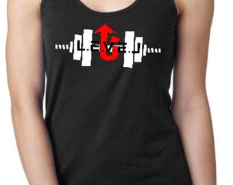 Women's LevelUp weightlifting tanktop