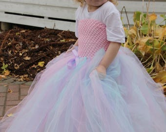 Cotton Candy Tutu Dress
