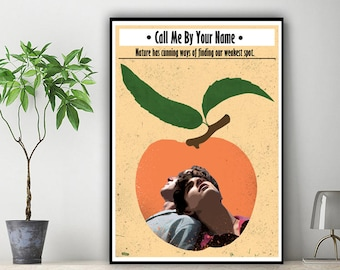 Call Me By Your Name Minimalist Print Size Undecided 7359869