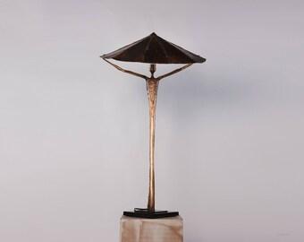 """Medium bronze """"Ecce Uomo"""" lamp"""