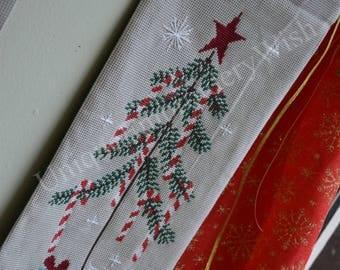 Christmas Embroidery Wall Hanging