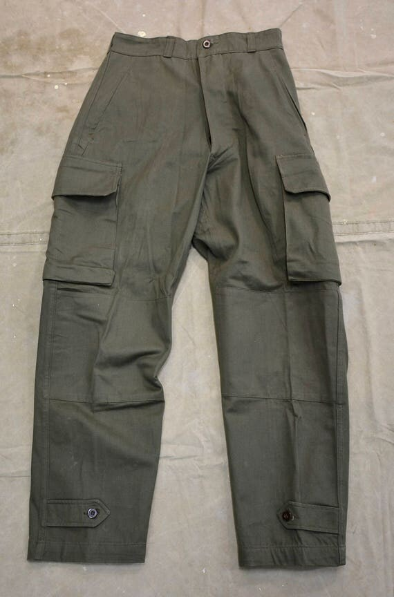 NOS french army pants 1950s deadstock cku0m8qU34