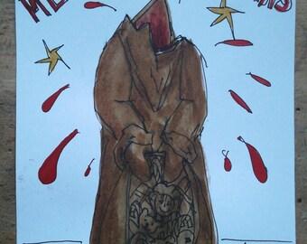 Christmas Card Headless Schokonikolaus