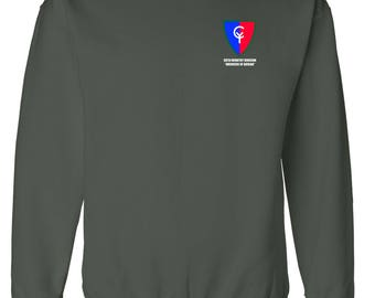 38th Infantry Division Embroidered Sweatshirt-7521