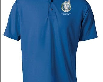 US Army Recruiter Embroidered Moisture Wick Polo Shirt -7772