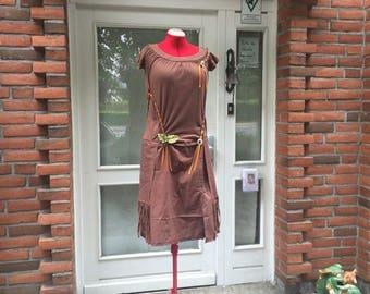 "Charleston, Waldkleid, leaves, ""Harry Potter"", Orange ribbons"
