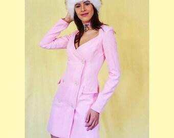 Pastel Pink Dress Suit