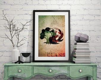Gruul Clan – Magic The Gathering Poster 11x17 Lustre Print