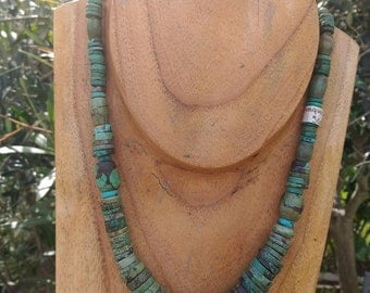 Genuine turquoise necklace from Afghanistan